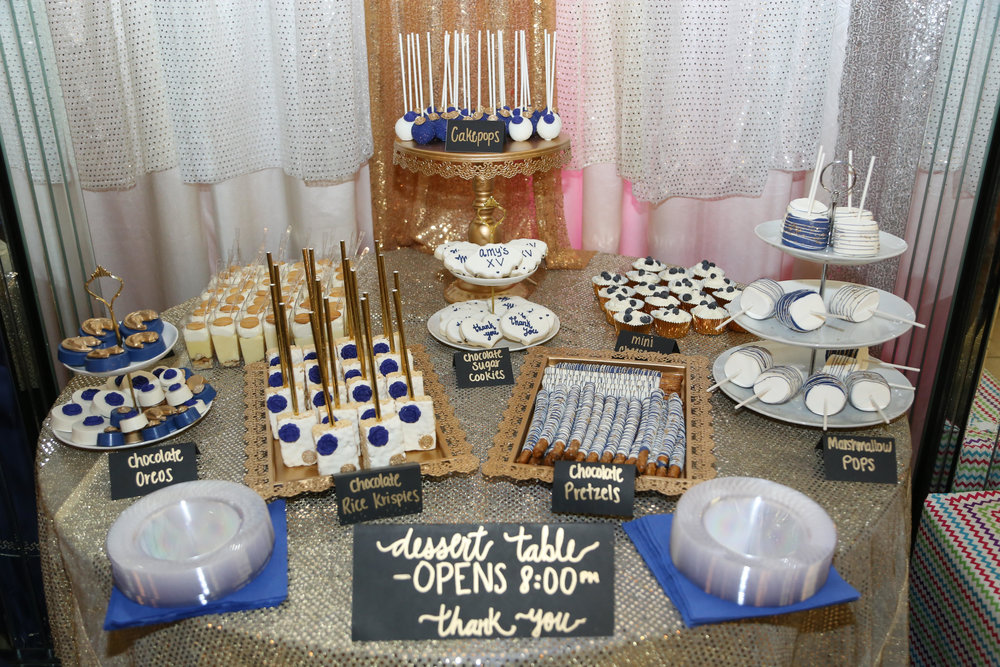 Custom dessert table by Lesly of Treats and Co