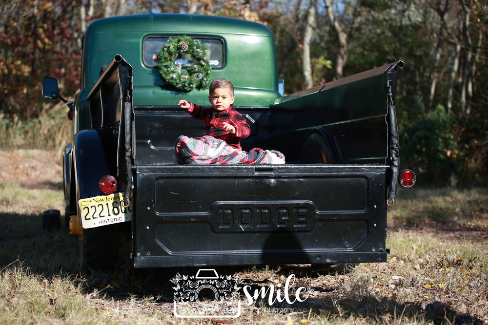 Vintage Truck Christmas