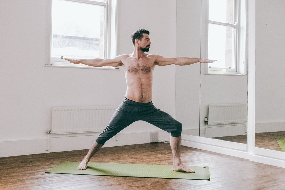 Will Mitchell - Host of Yoga Soul at Float Festival