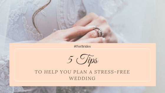 5 Tips To Help You Plan A Stress Free Wedding Laura Hoyle