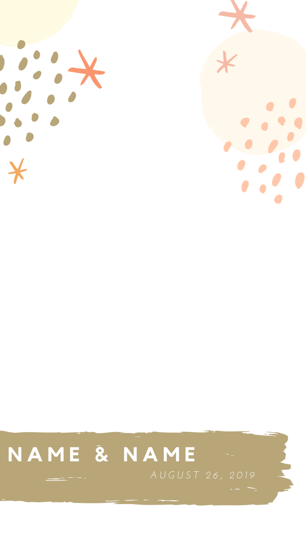 Inspired by the Arts Conceptual Nashville Wedding Geofilter