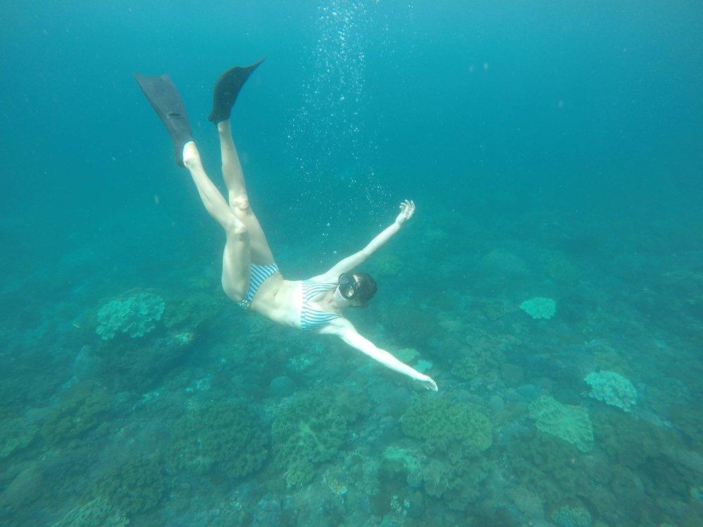 cristal bay nusa penida island