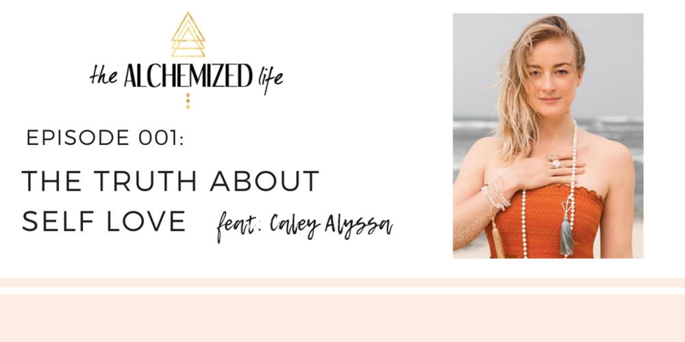 caley alyssa on the alchemized life podcast