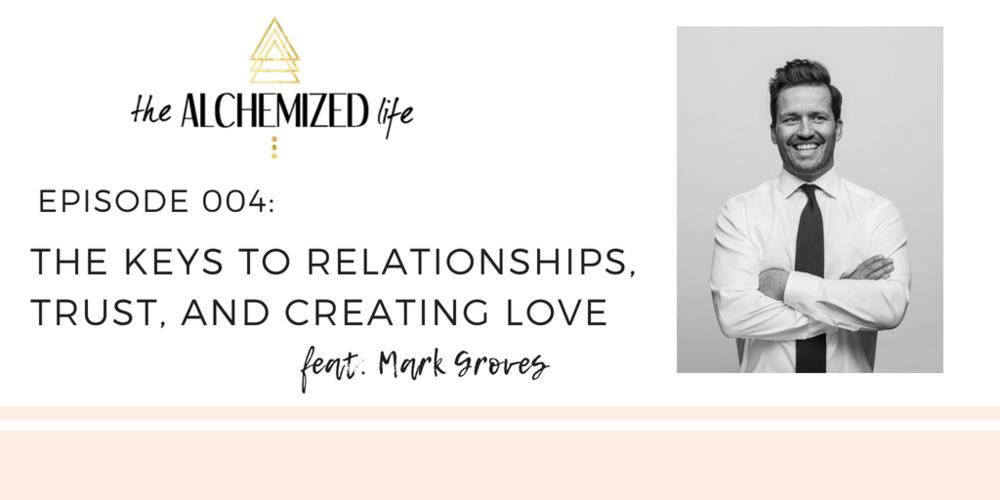 mark groves on the alchemized life podcast