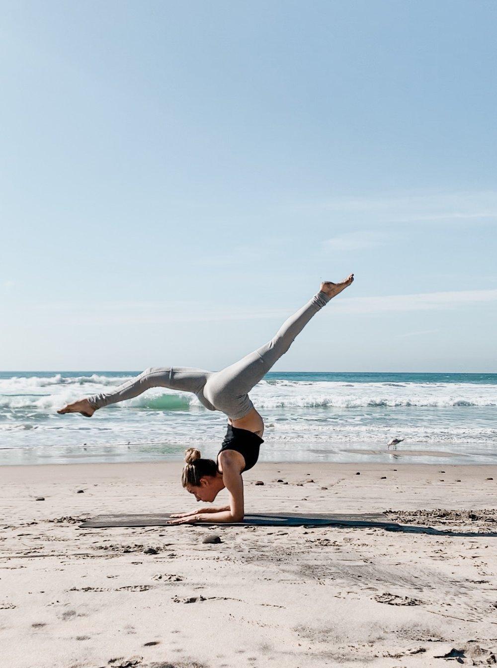 weekly yoga classes in ocean beach