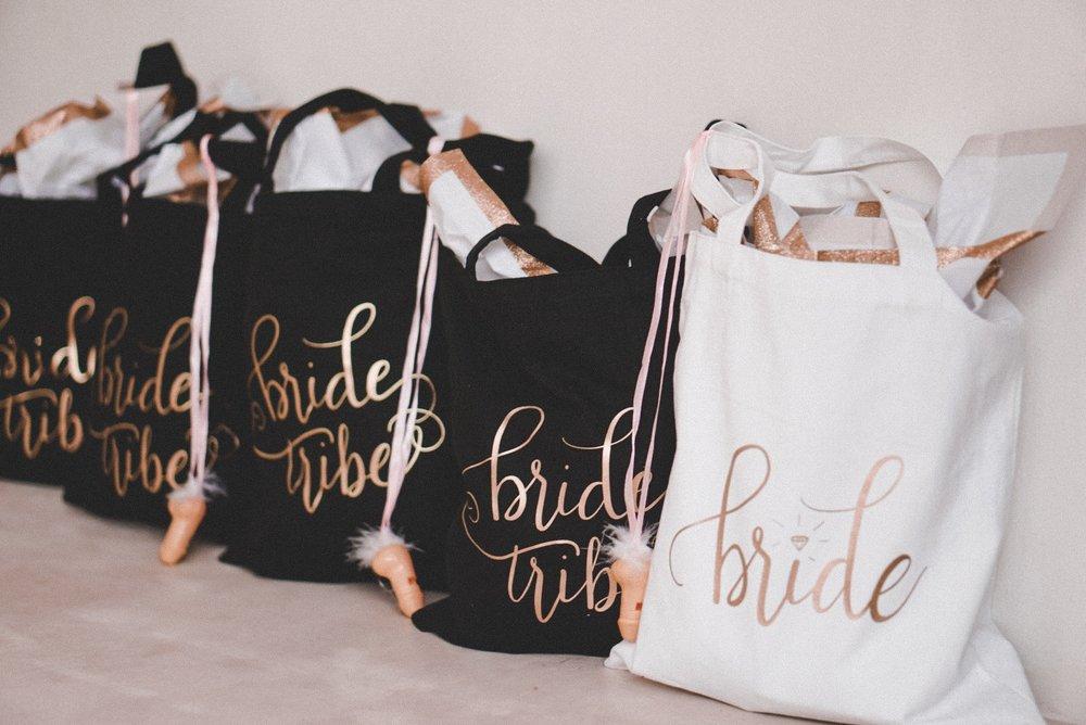 bridal shower gift bags