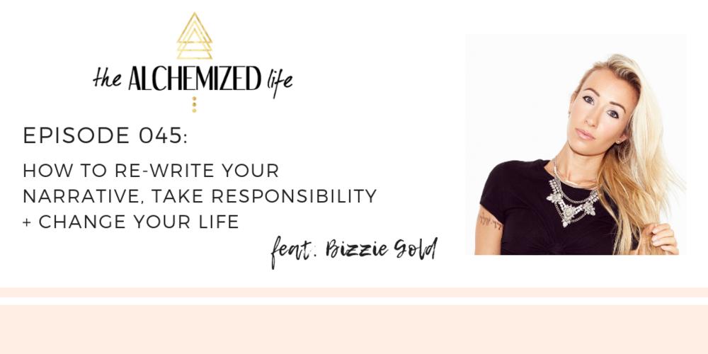 bizzie gold on the alchemized life podcast