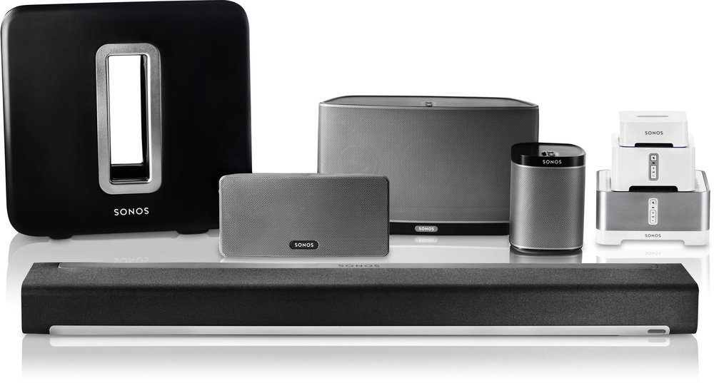 Sonos Speakers Family