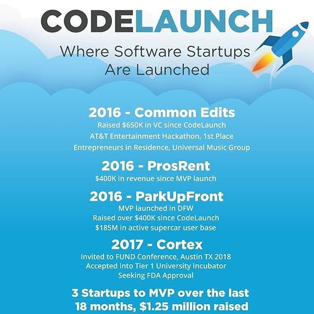 Calling all startups! This year's #codelaunch is right around the corner! Presented by @codeauthority & @lifeatimproving, the call for entries is now open and closes tomorrow, May 31st. . . #startup #networking #seedaccelerator