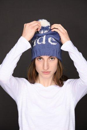 05852cfca5d Custom Hat w Knit Pom-Pom