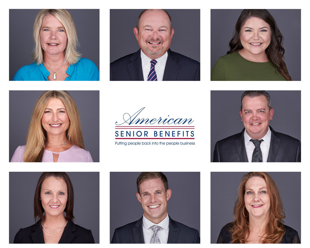 As Eye See It on-location company headshots- American Senior Benefits