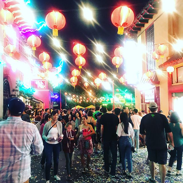 Beautiful Los Angeles.  Never a dull moment . . . . . #chinatownsummernights #losangeles #chinatown #thebeast #alltheprettythings