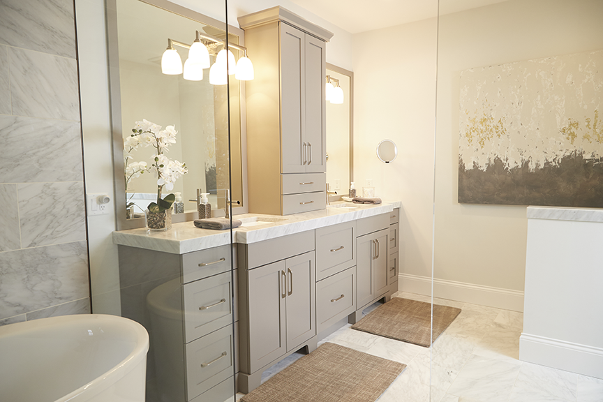 Baths Creasey Construction Home Building Remodeling - Bathroom remodel springfield il