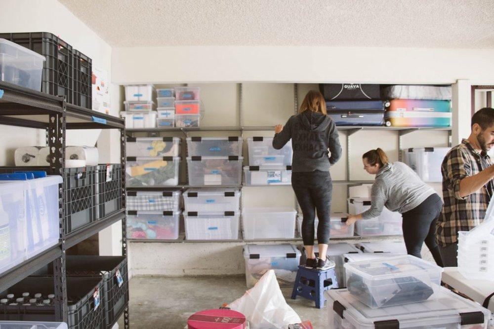 Life in Jeneral Team Organizing Laura Iz's Garage