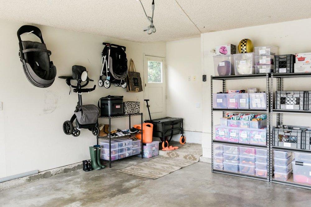 Summer Garage Organization Tips