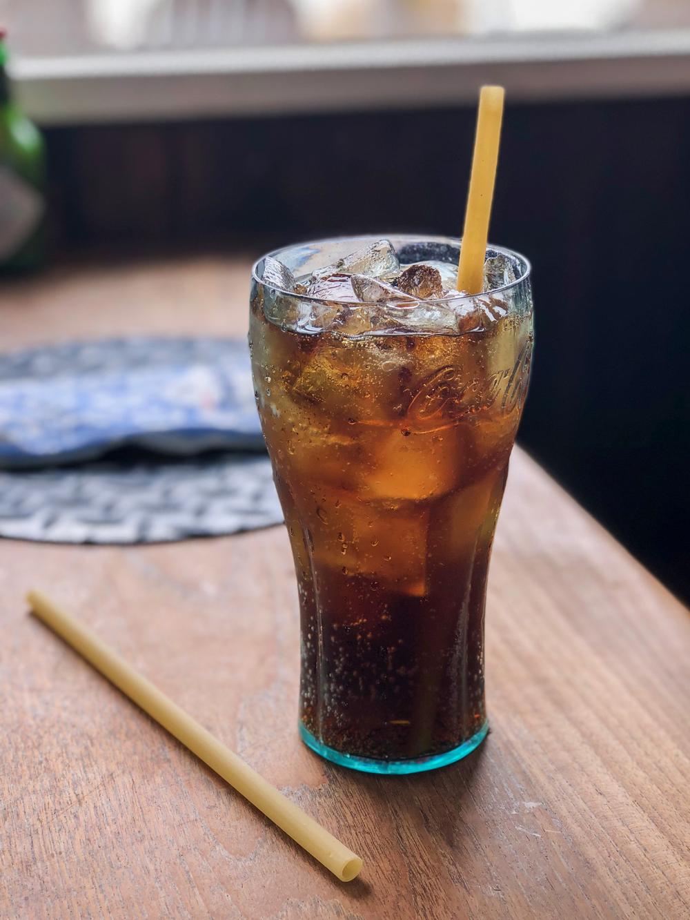PastaStraw in Soda