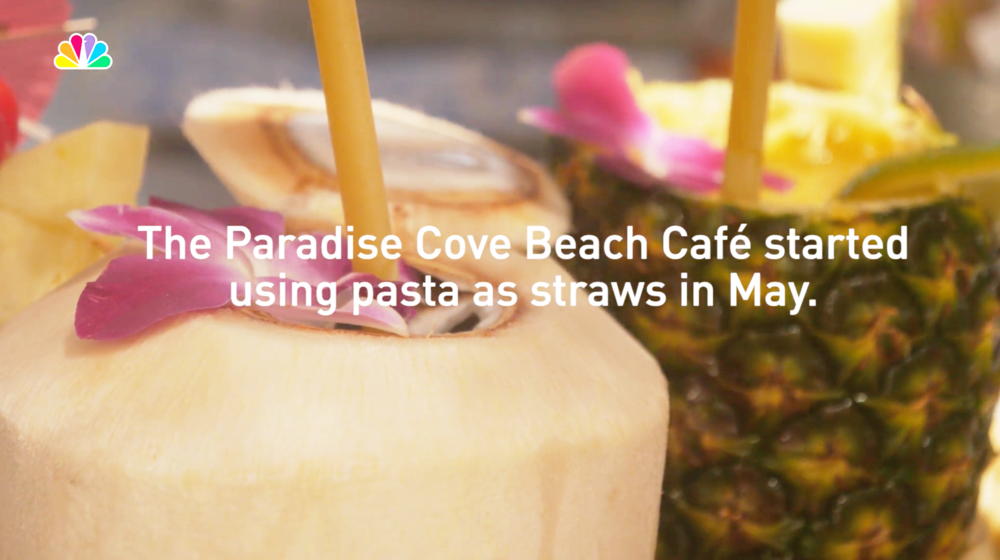 NBC Los Angeles Pasta Straws