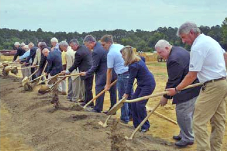 Groundbreaking for New Bulloch County Agricultural Center