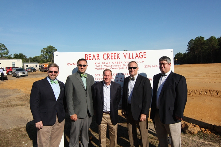 Groundbreaking for Bear Creek Village Apartments