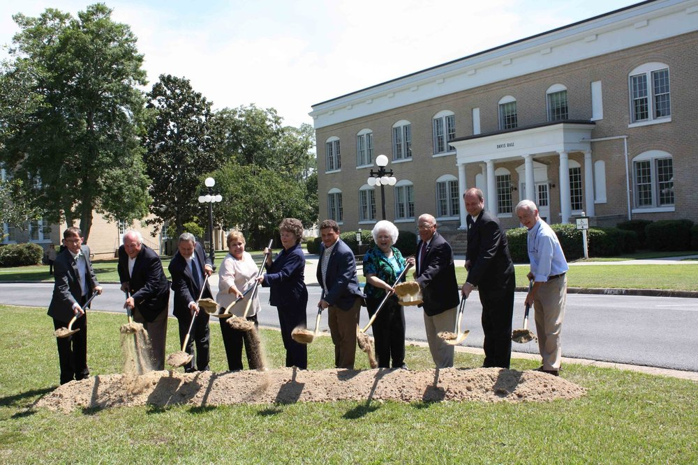 Davis Hall Groundbreaking at South Georgia State College