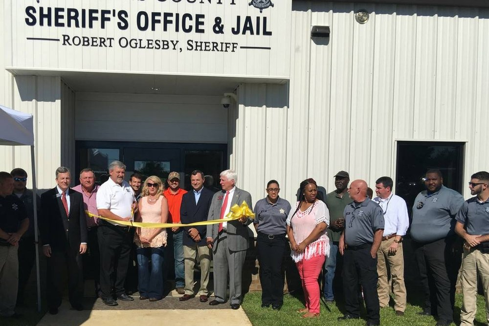 Grand Opening and Ribbon Cutting at New Jenkins County Jail