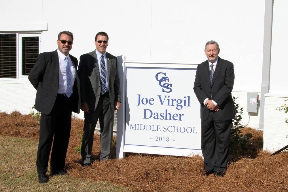Groundbreaking Ceremony at Joe Virgil Dasher Middle School at Georgia Christian School