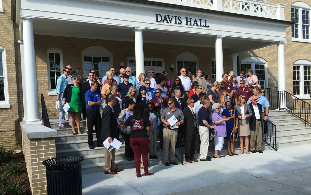 Ribbon Cutting at Historic Davis Hall at South Georgia State College