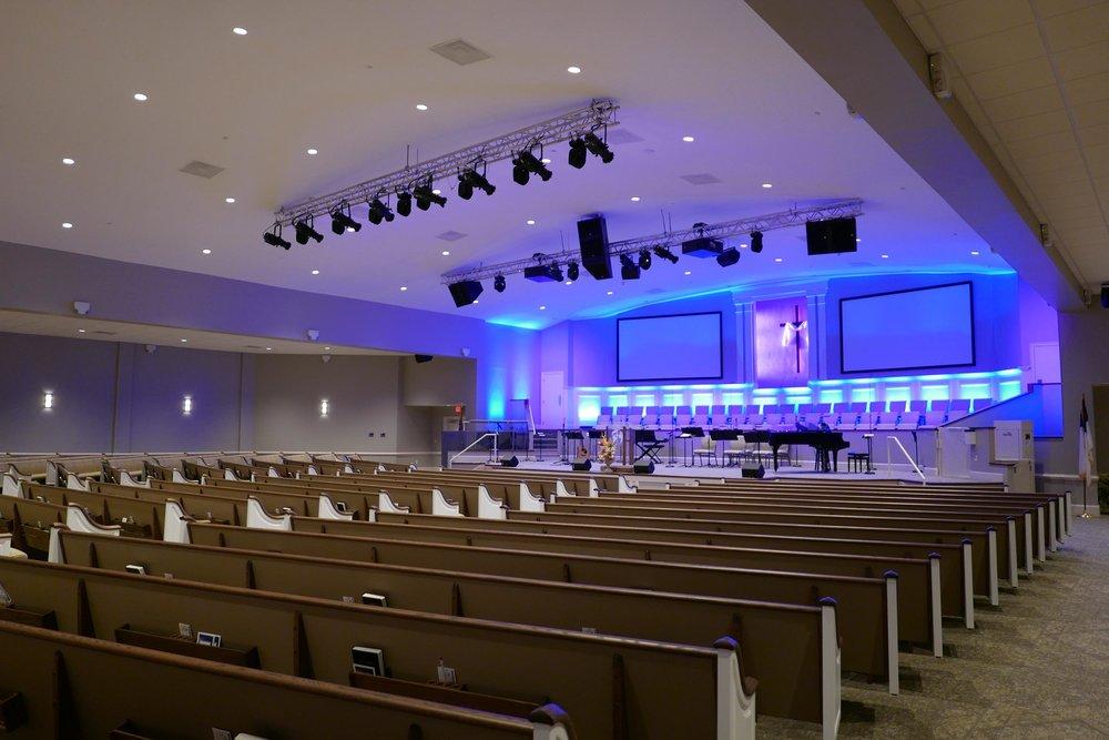 Northside Baptist Church Renovation & Addition