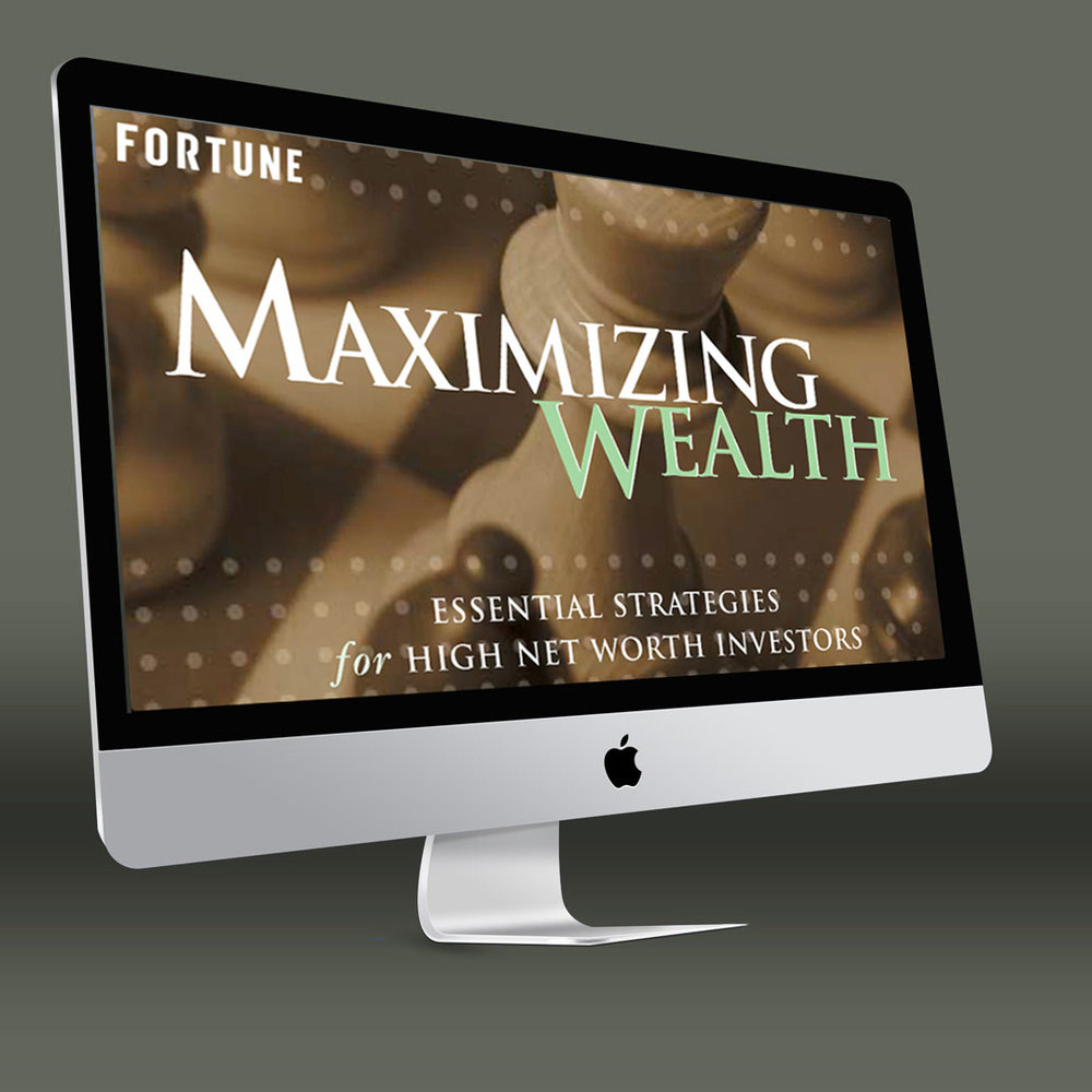 A celebrated business magazine courts high net worth investors. - Although its audience is one of the richest in America, Fortune is viewed on Madison Avenue as more about management than investing. To offset that perception and attract ads from private banks and other players in the bourgeoning wealth management market, we developed original content tailored to the unique needs of high net worth individuals.