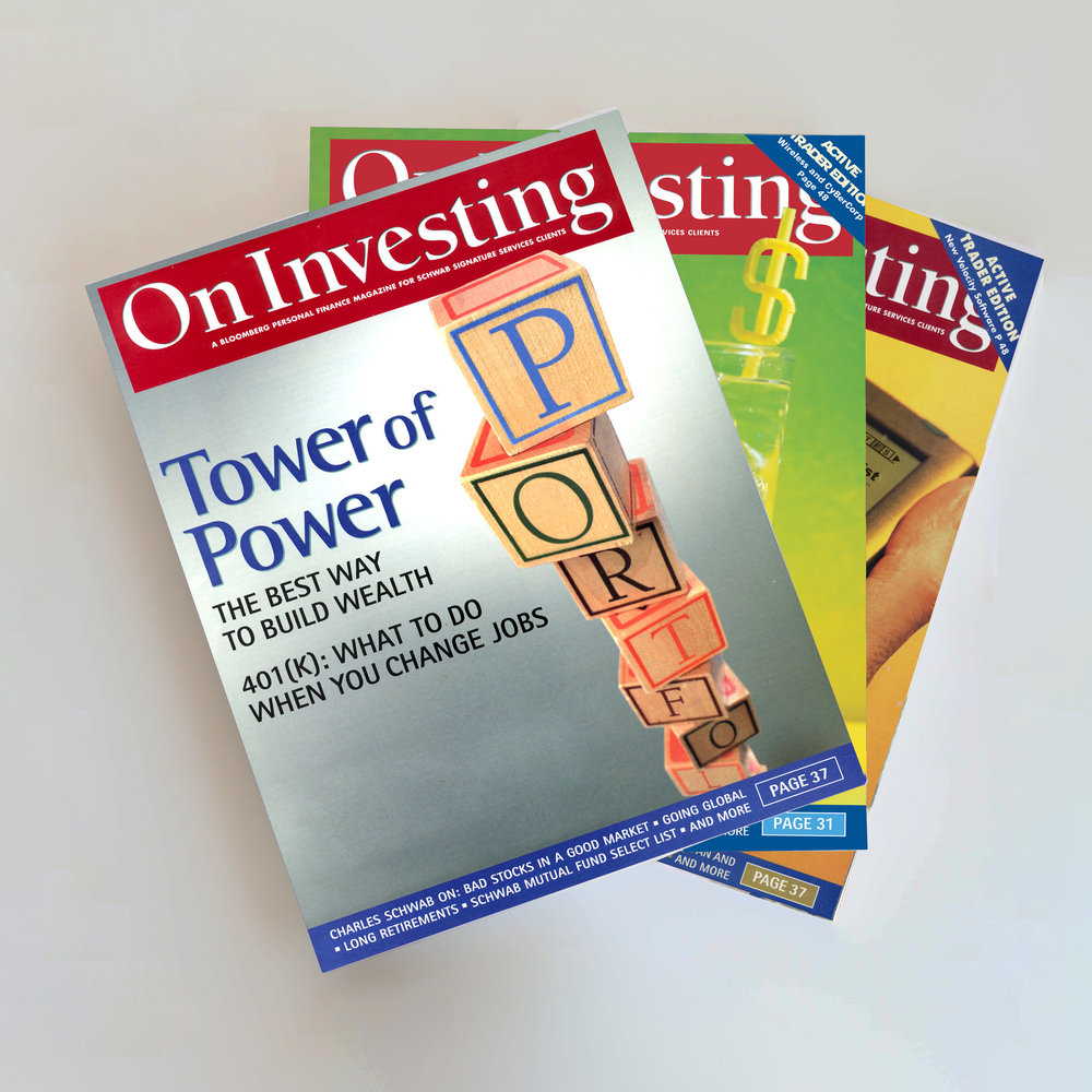 A top brokerage firm cultivates clients with a slick magazine. - When a big chunk of your assets under management comes from a sliver of affluent investors, you want make them feel special. To help Charles Schwab strengthen bonds with lucrative clients, we partnered with Bloomberg to develop a high-quality custom magazine with exclusive insights and strategies from Wall Street pros, brand-name journalists and business visionaries. The popular magazine is an important part of the company's retention program.
