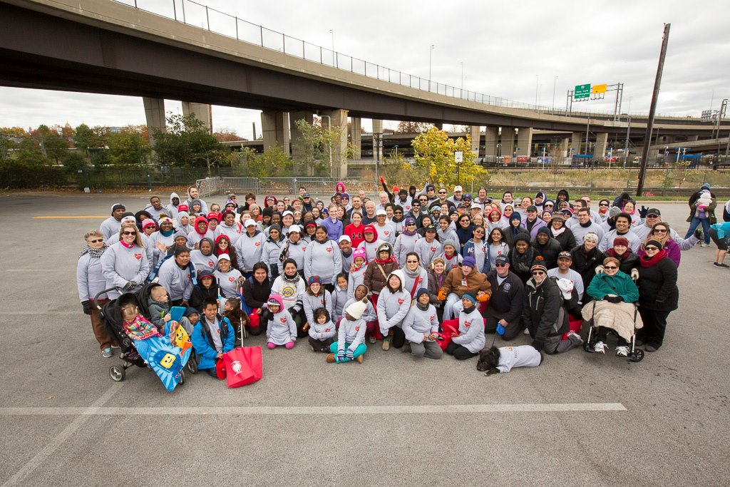 HeartWalk team photo