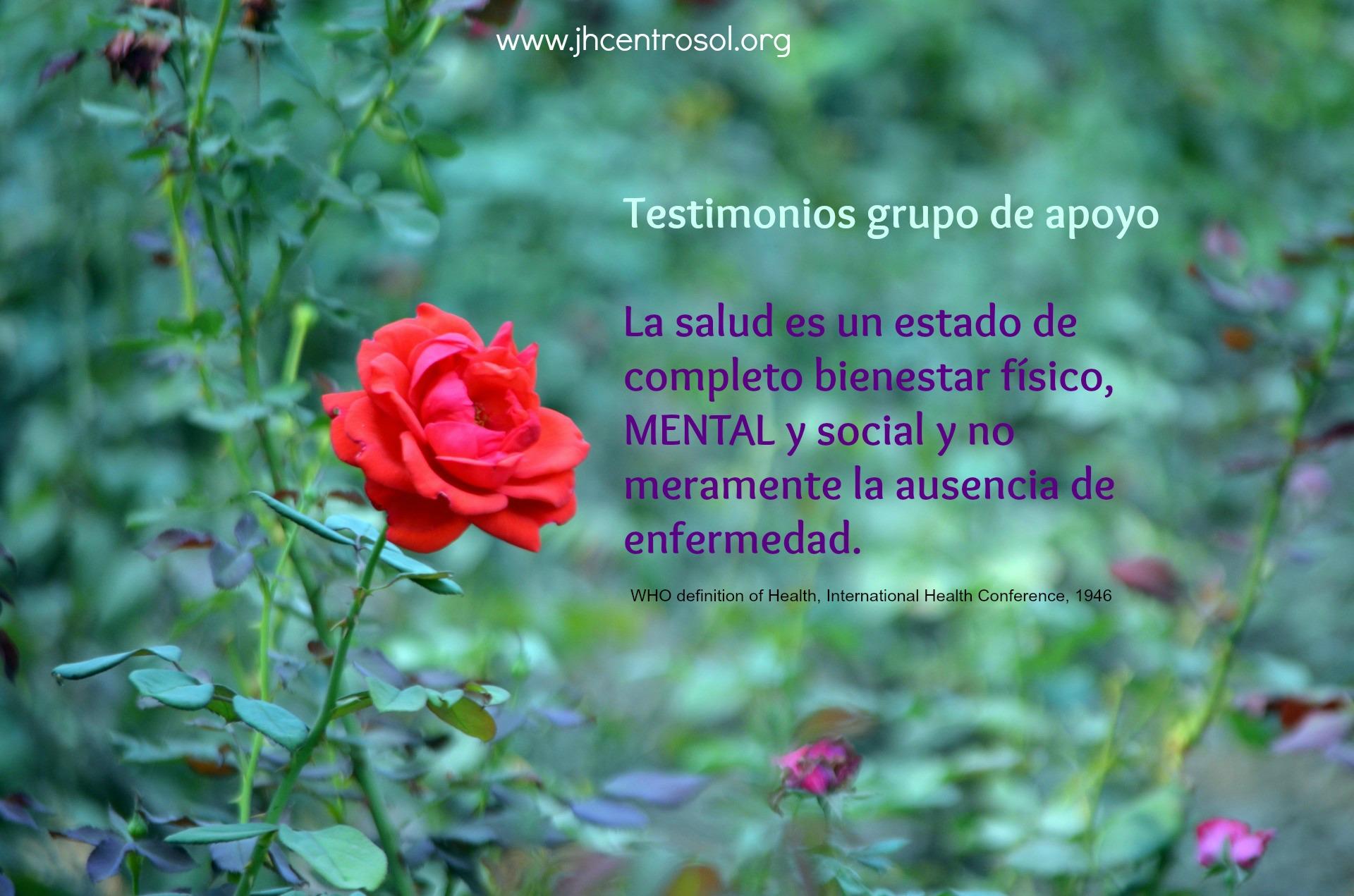 testimonios women