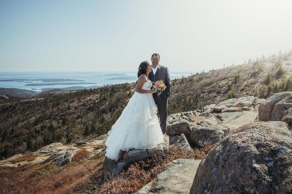 Corinna Maine wedding photography
