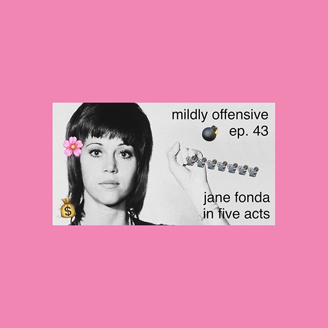 The ladies of Mildly Offensive take on the #JaneFonda documentary this week ✌️☝️✊