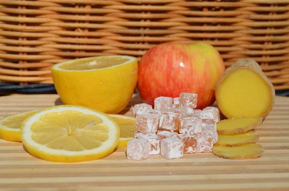 lemon ginger - Anti nauseaAnti motion sicknessAnti inflammatory