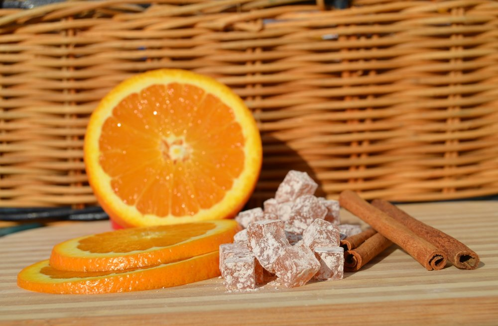orange cinnamon - Anti gasDigestive reliefBoost Immunity