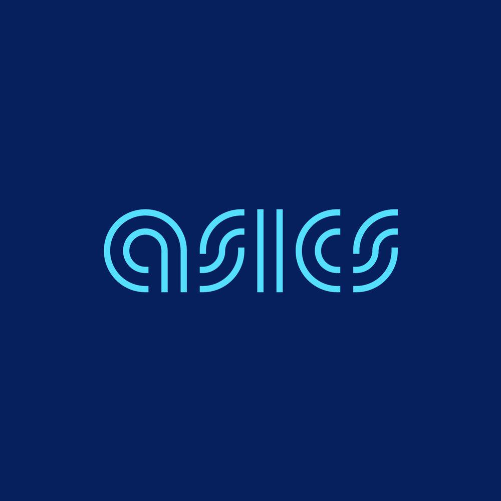 Asics logo lockups