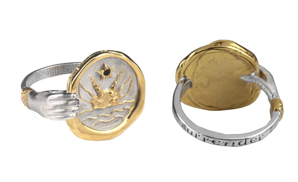 Zodiac Hand Ring