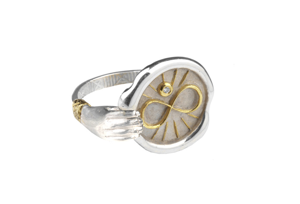 Infinity Hand Ring