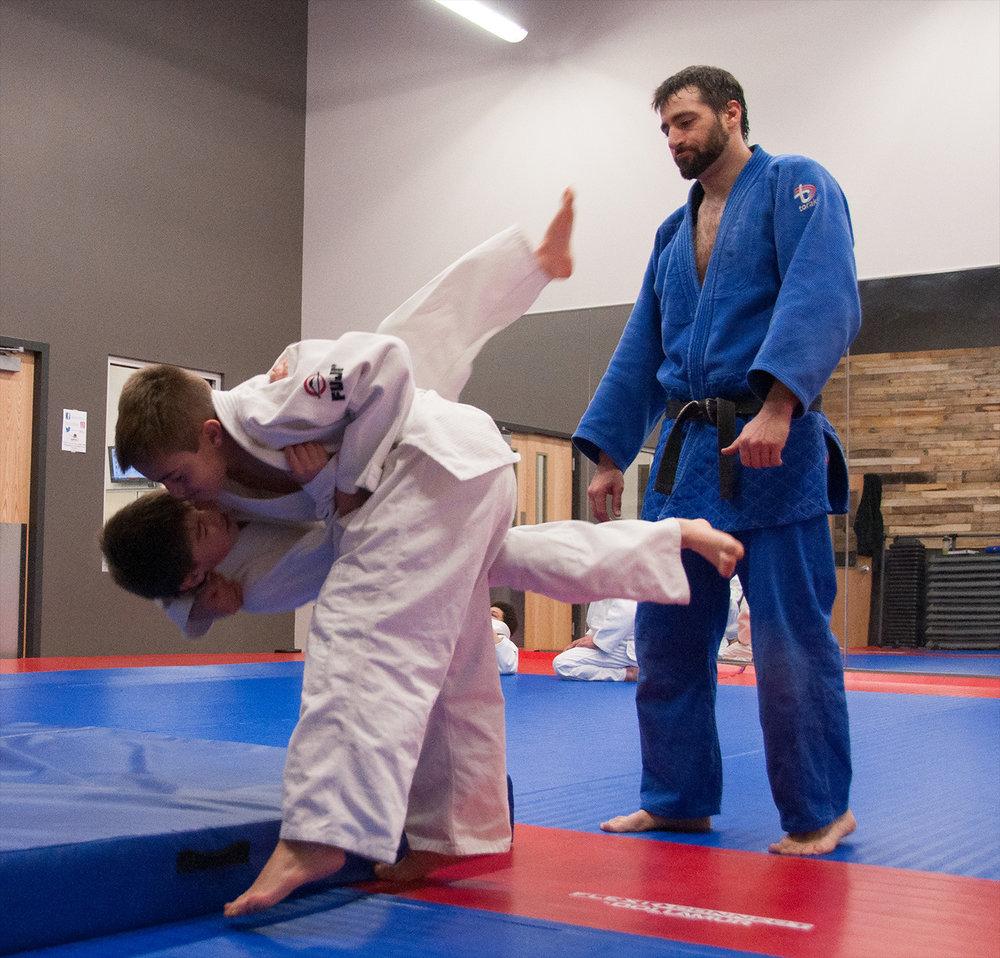 Sensei Ricky Delgado - Front Range Judo