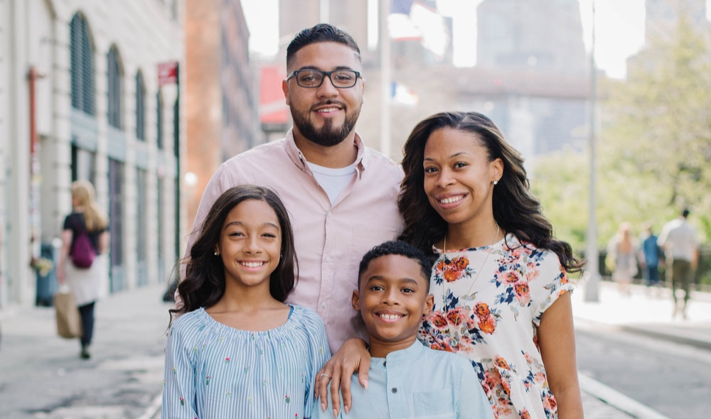 The Barrios Family who are planting a church in Brooklyn.