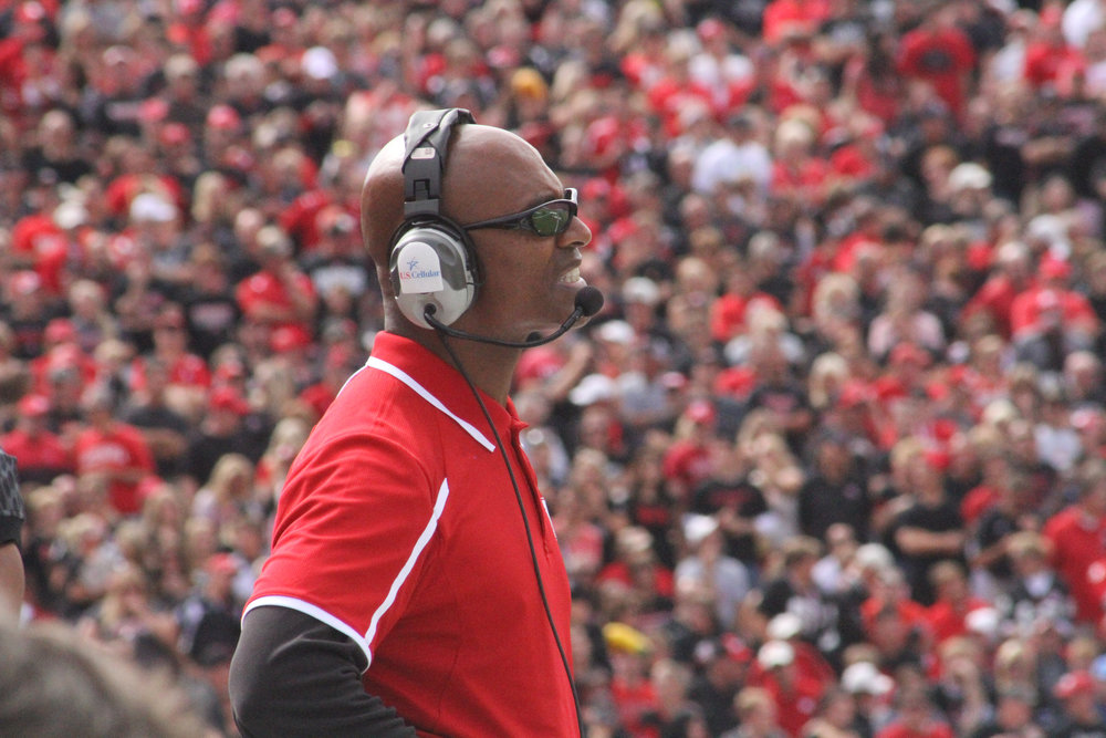 Ron Brown - Ron Brown is a member of the Fellowship of Christian Athletes Hall of Champions and a former Nebraska FCA Director. Ron is Director of Player Development for the University of Nebraska football team. He spent 24 seasons as an assistant coach at Nebraska while they won three national championships. You can find his videos and Bible studies at calledtocompete.com and sportsparables.com