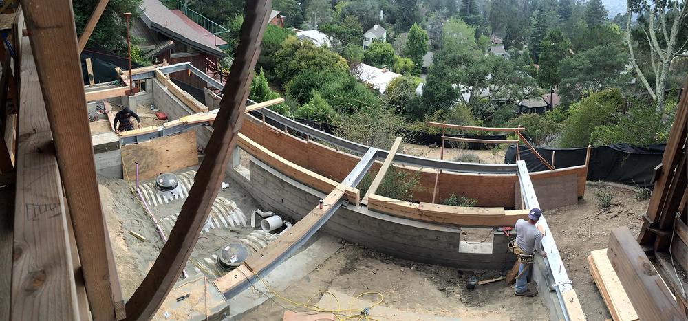 cistern construction