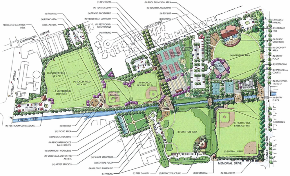 2010 park master plan