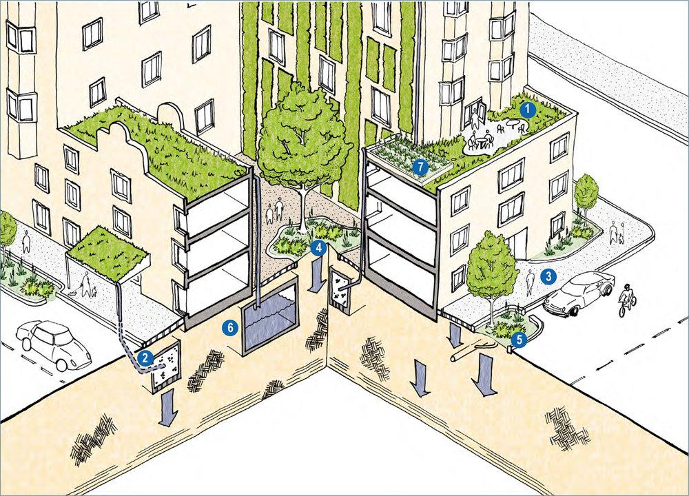 high density residential illustrative bmp example