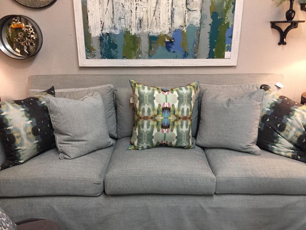 Light Blue Sofa - $2884