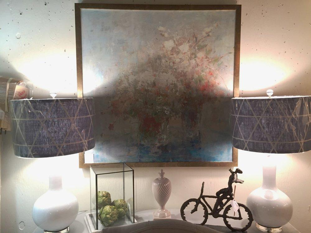 Floral Modern Art - $439