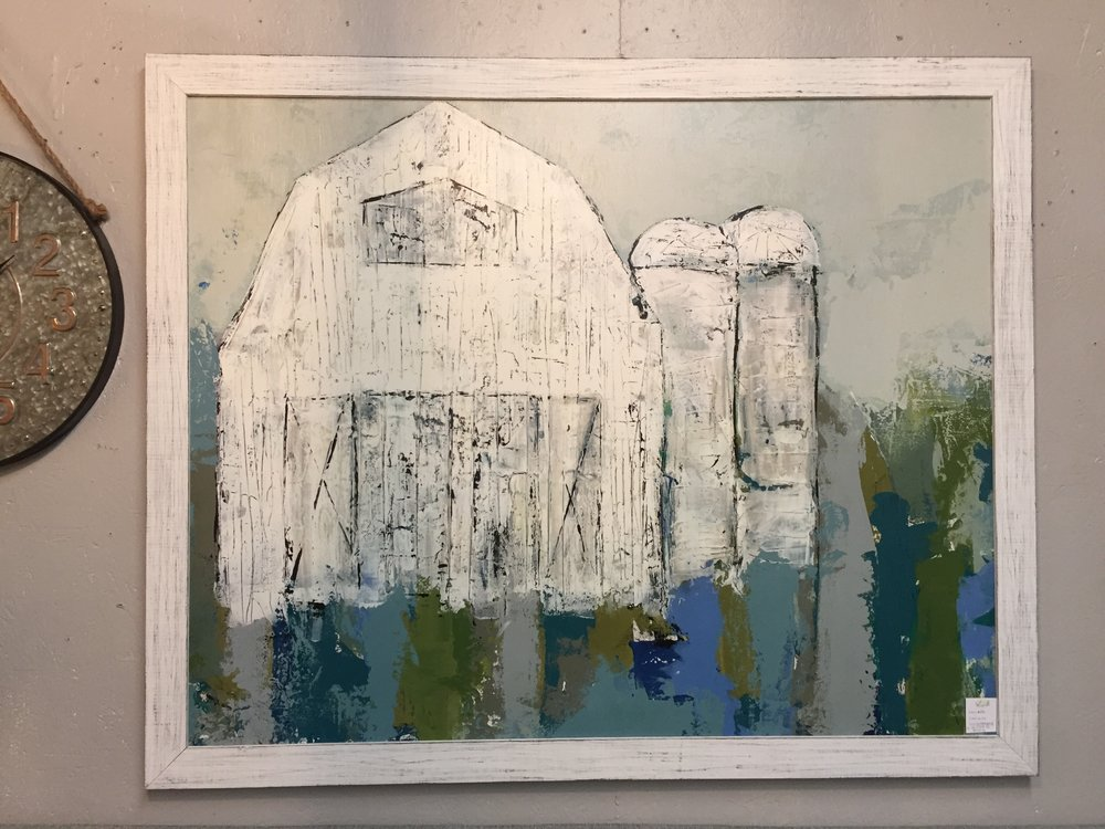 Rustic Barn Painting - $659