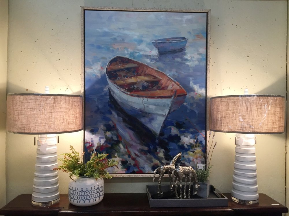 Boat Painting - $659