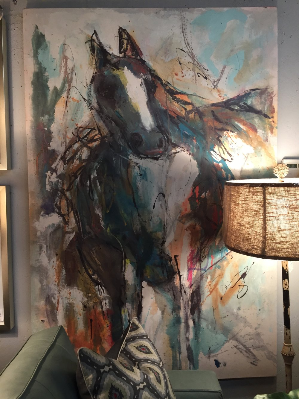 Horse Painting - $649
